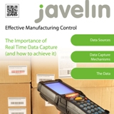 JAVELIN Real Time Data Capture White Paper 1