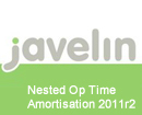 Javelin 2011r2 Nested Op Time Amortisation